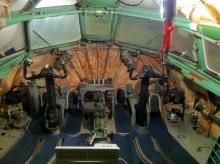 Полностью подготовленная кабина к процессу прокладки новой электропроводки