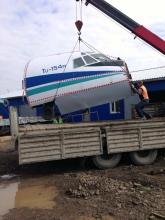 Погрузка на грузовик