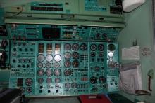 Интерьер кабины на момент подготовки к отделению от фюзеляжа
