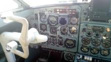 Кабина самолета Як-40